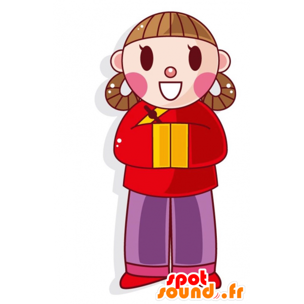 Purchase and original chinese. Friendly clipart friendly girl