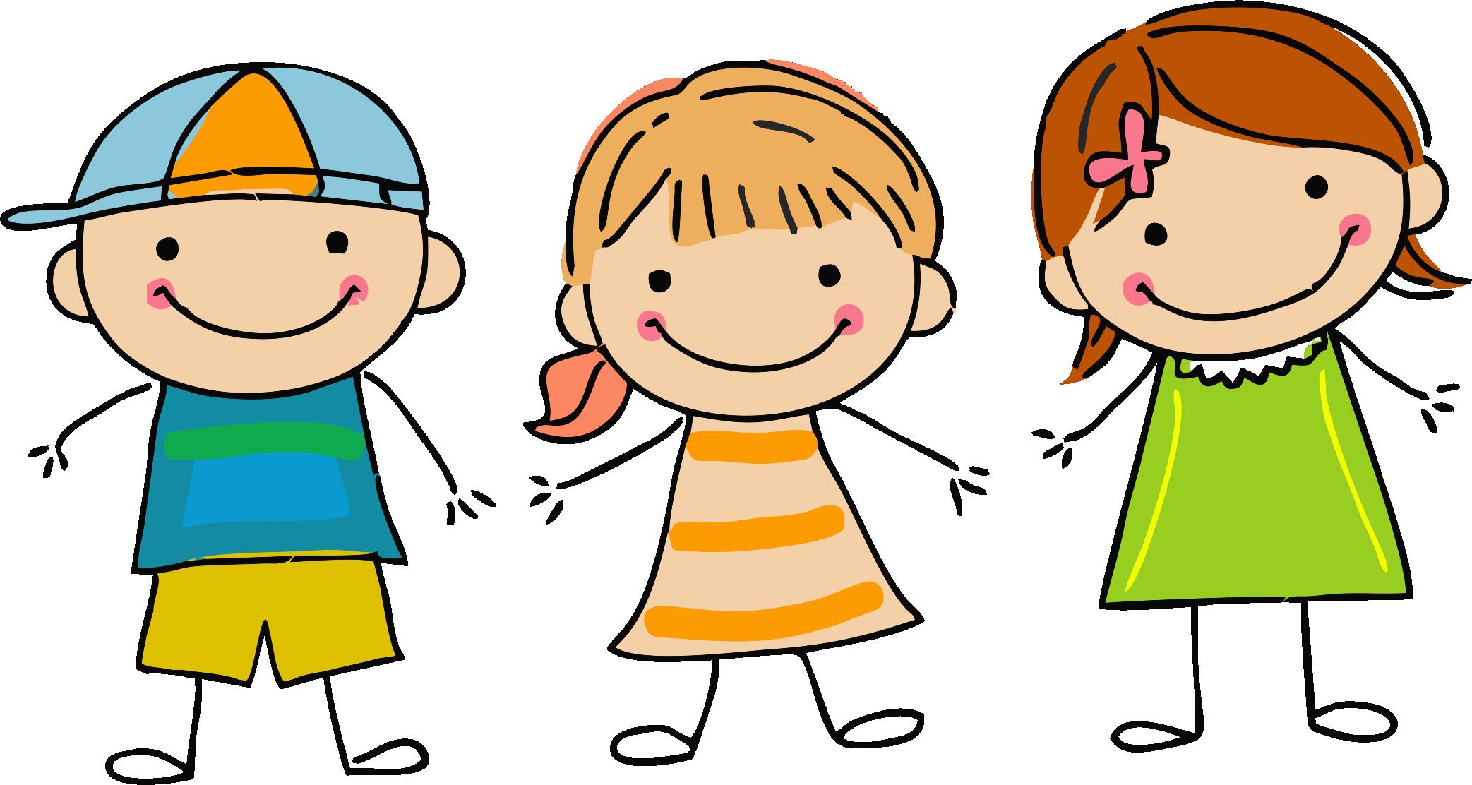 Friendly clipart group child. Home clandeboye preschool handdrawnkids