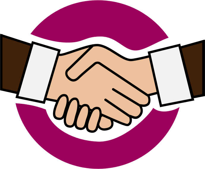 The top best blogs. Handshake clipart brotherhood