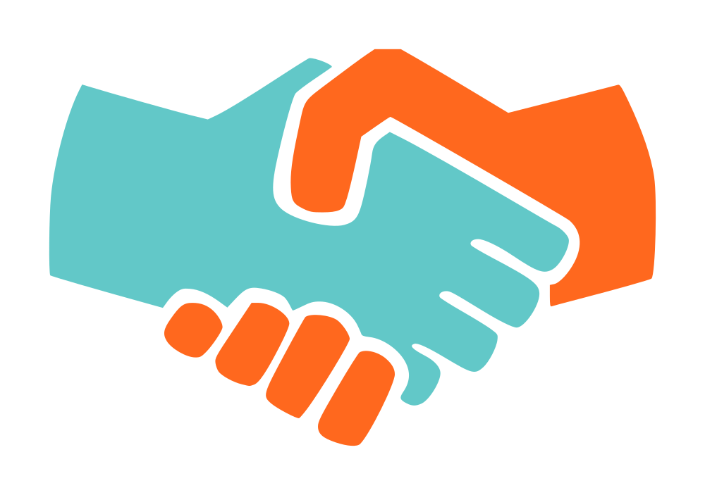 Professional clipart handshake. Onlinelabels clip art icon