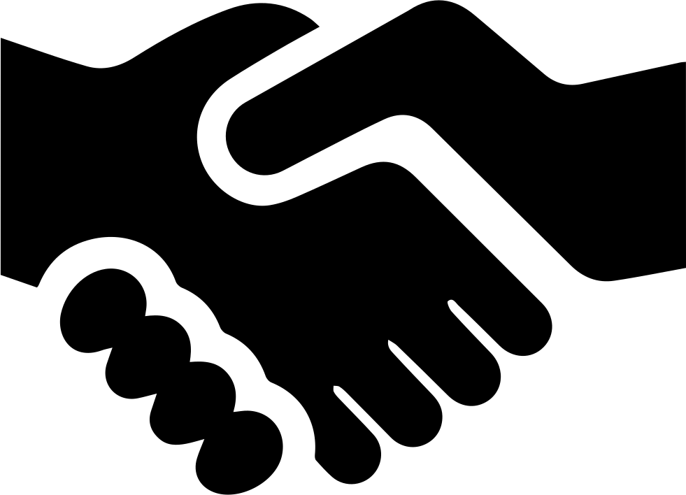 Professional clipart handshake. Svg png icon free