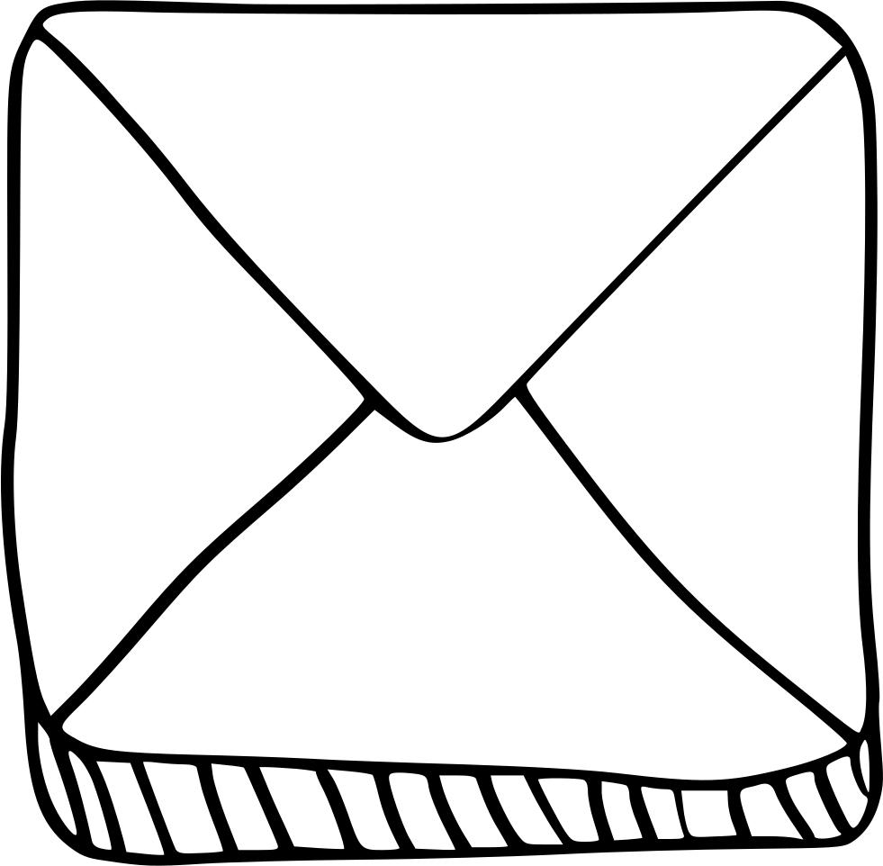 Chat email envelope letter. Friendly clipart informal communication