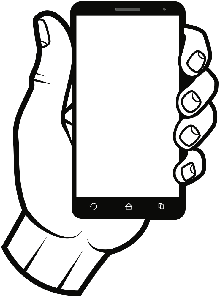 Friendly clipart kind hand. Onlinelabels clip art smartphone