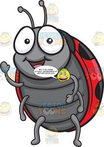 A . Ladybug clipart friendly