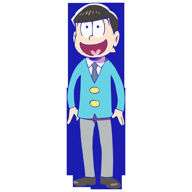 Teen clipart human boy. Jyushimatsu osomatsu kun wiki