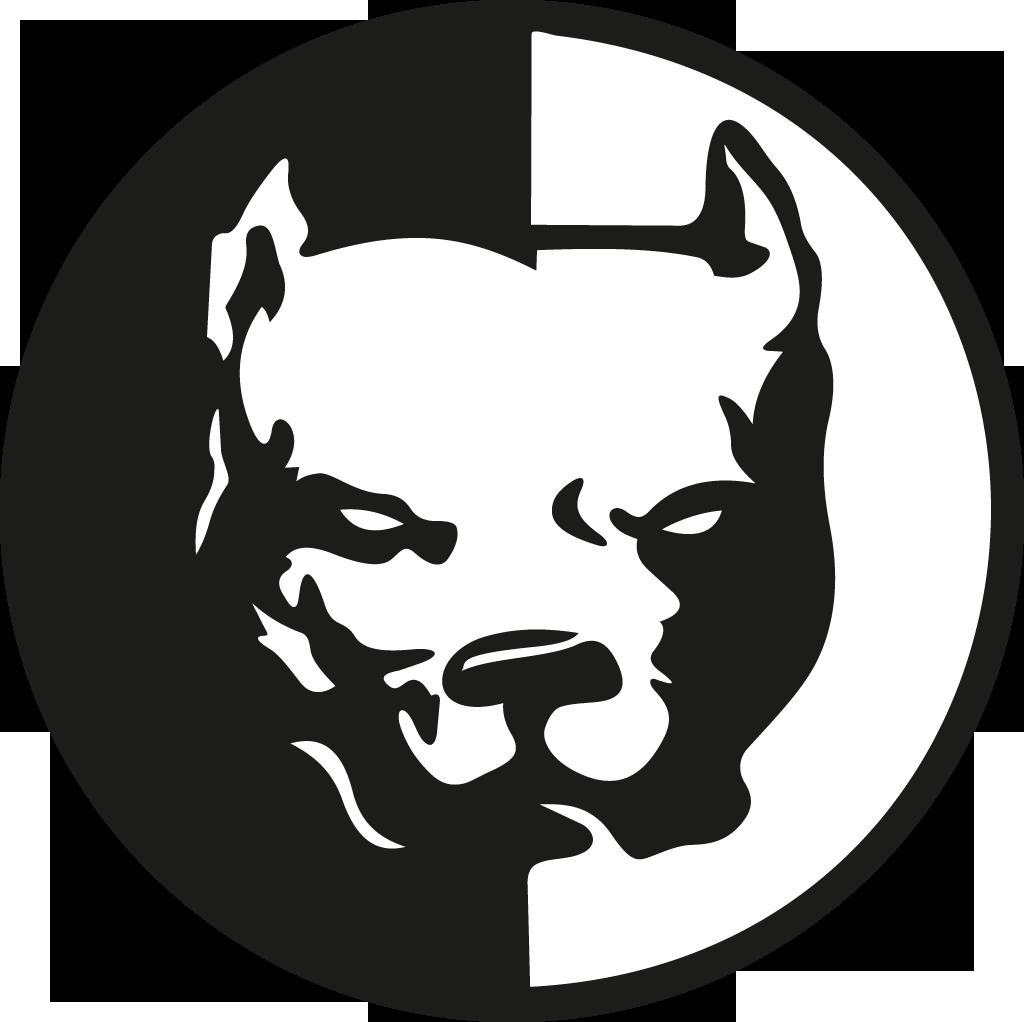 Logo google search pit. Friendly clipart pitbull