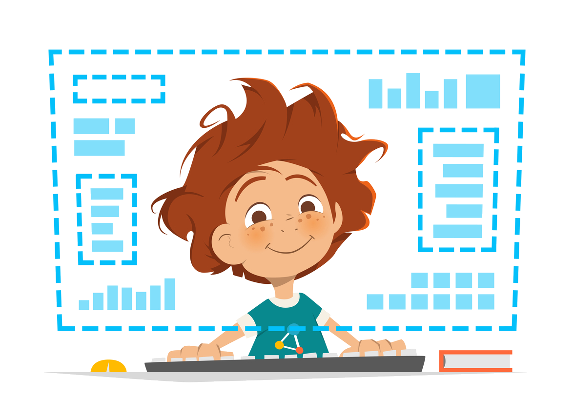 Cool sites for kids. Friendly clipart popular kid