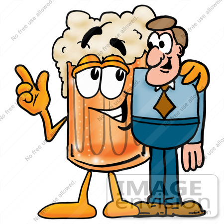 Friendly clipart sociable person.  clip art graphic