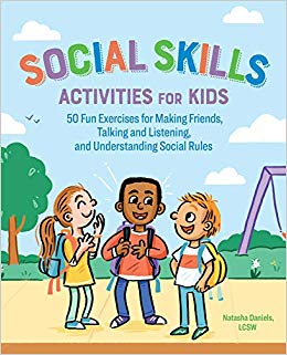 Skills activities for kids. Friendly clipart social activity