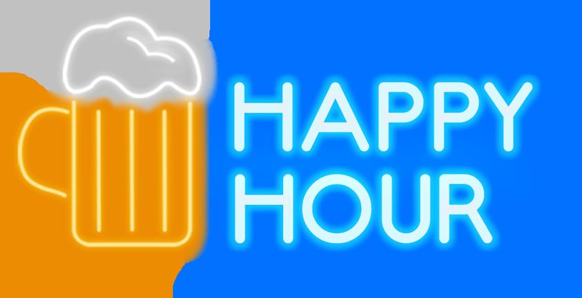 Soho cocktail bar simmons. Friendly clipart social hour