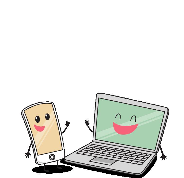 Media marketing advertising services. Friendly clipart social need