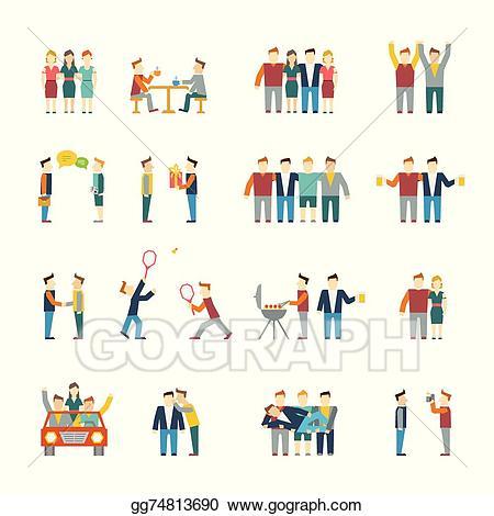 friendly clipart social need