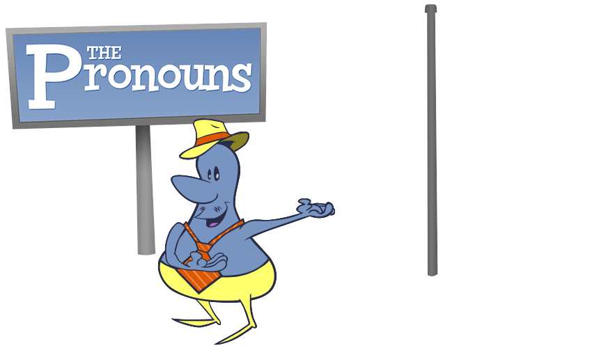 Friendly clipart us pronoun. Nouns and verbs lessons