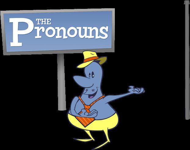 Friendly clipart us pronoun. Nouns