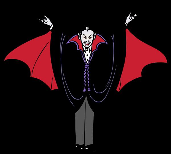 Halloween pinterest. Vampire clipart simple