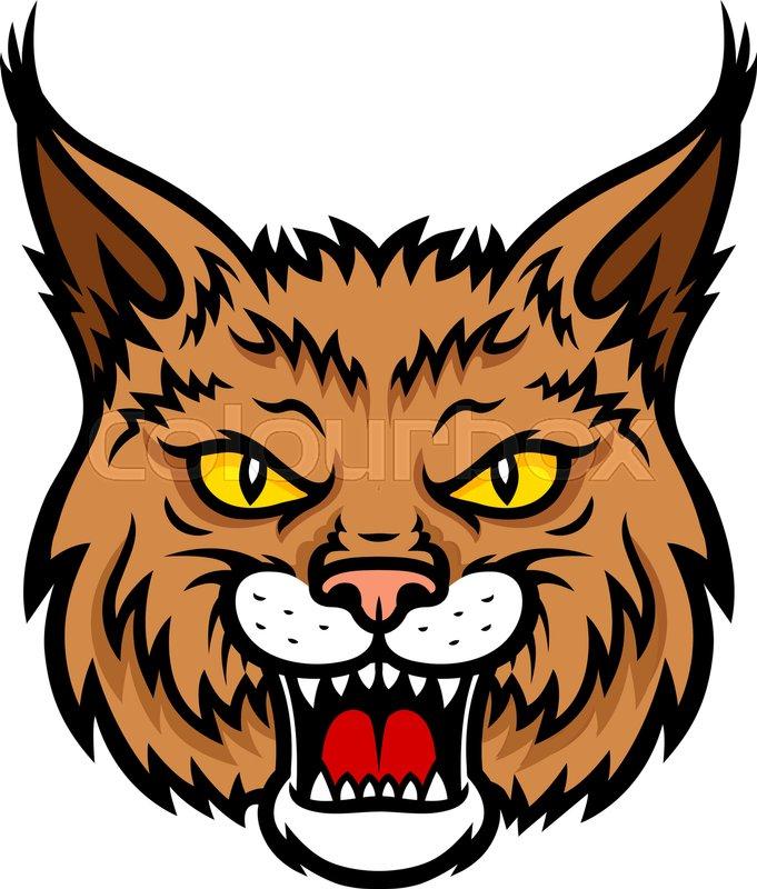 Wildcat clipart friendly. X free clip art
