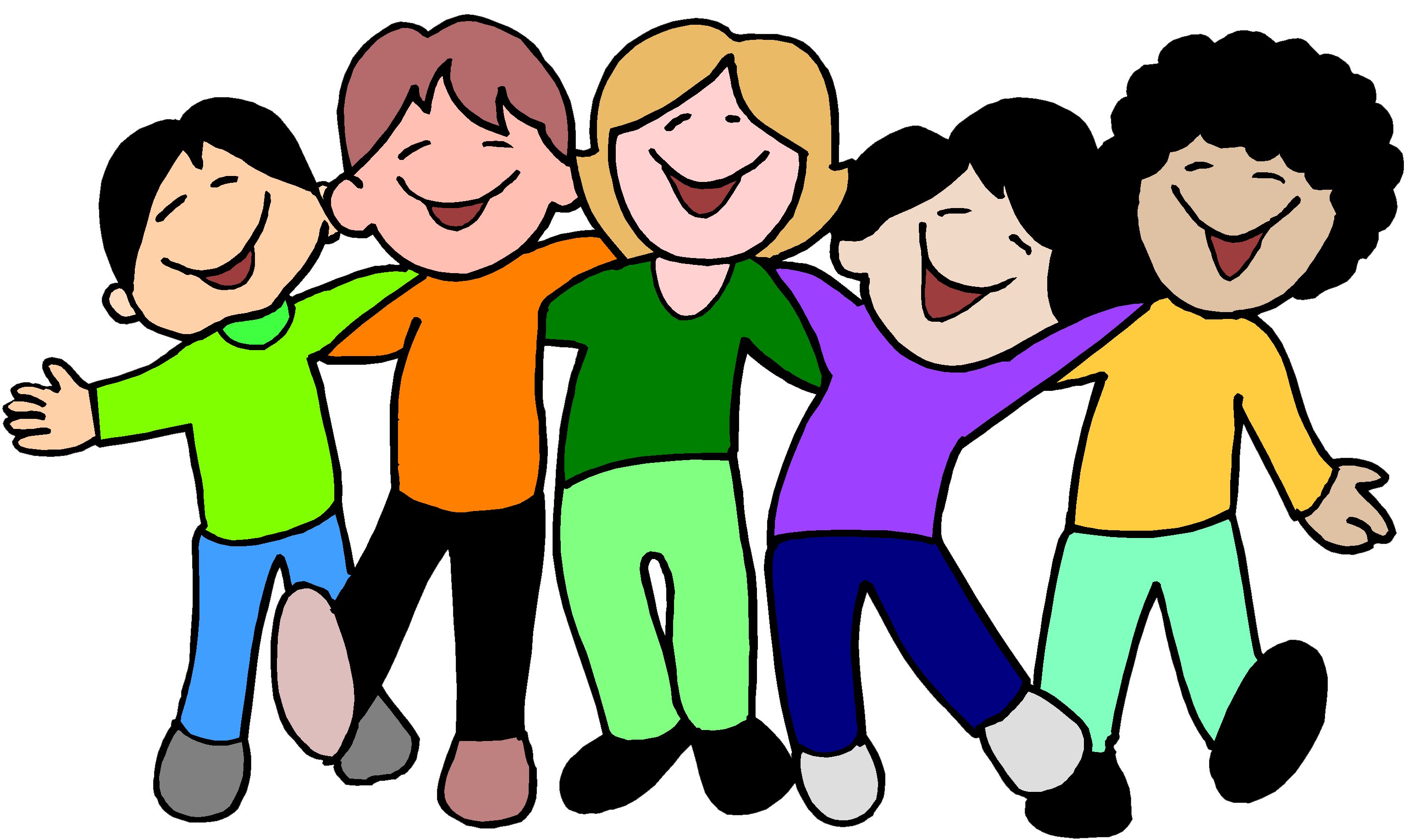 Friendly clipart youth. Kidzone word for the
