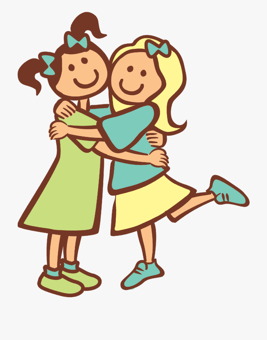 Friendship clipart transparent background. Of art friends and
