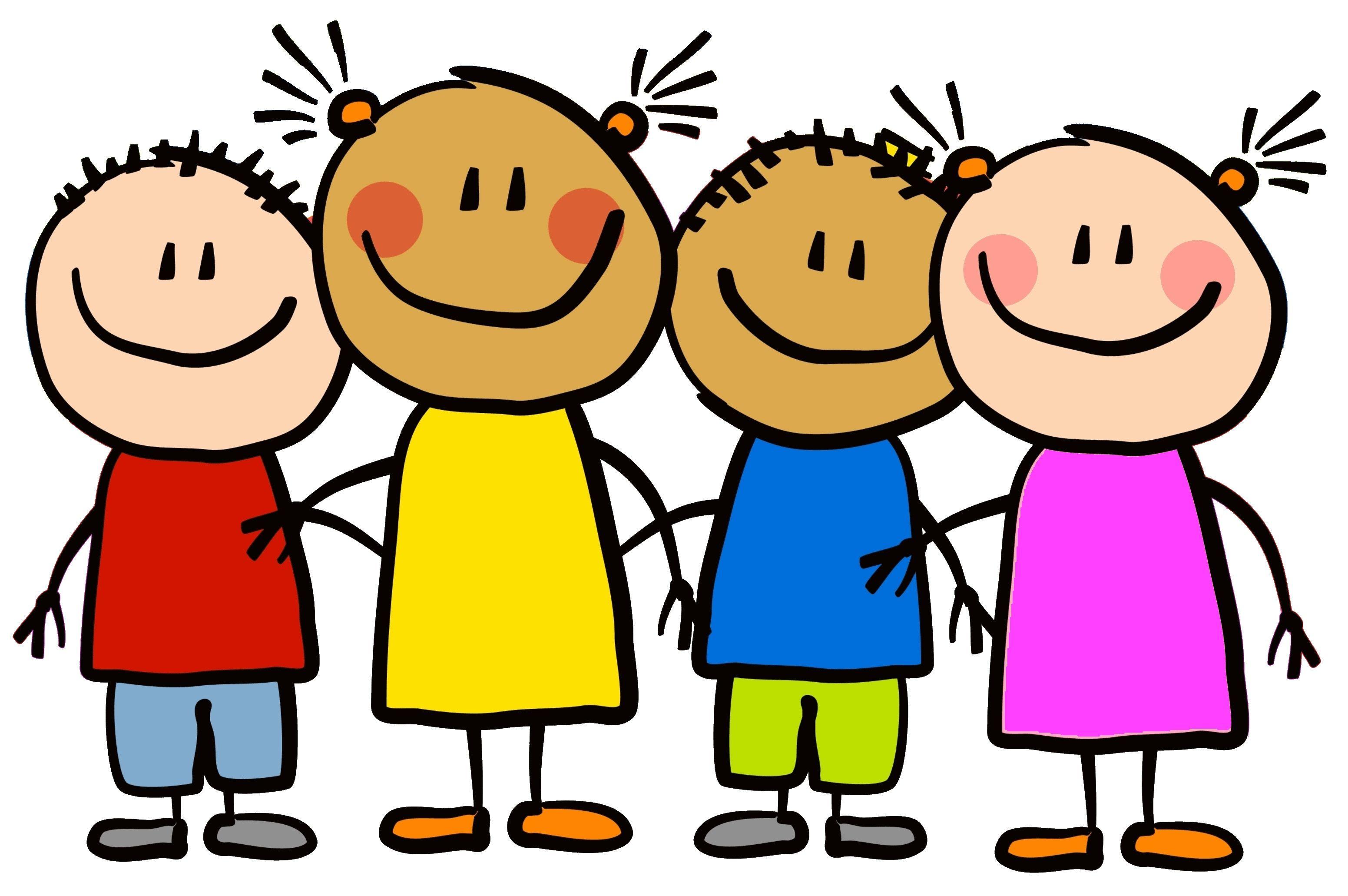 Kindergarten friends jpeg for. Clipart kids