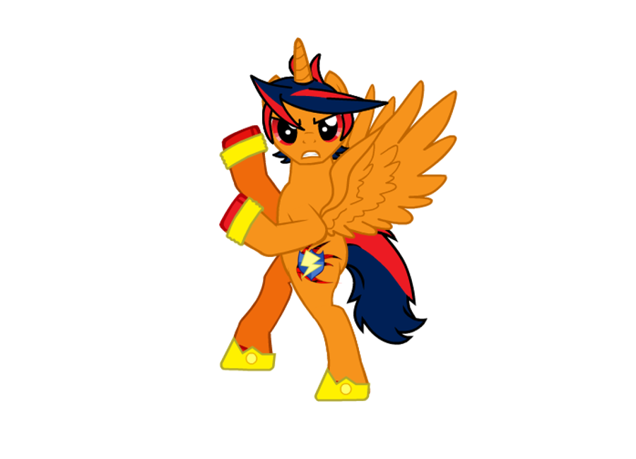 Hedgepony and flash sentry. Friends clipart shadow