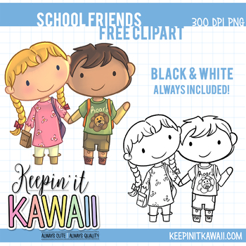 School friends free clip. Friendship clipart back to back