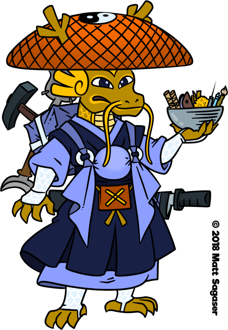 Japanese clipart ninja. Matabei drakkoisho by daimyo