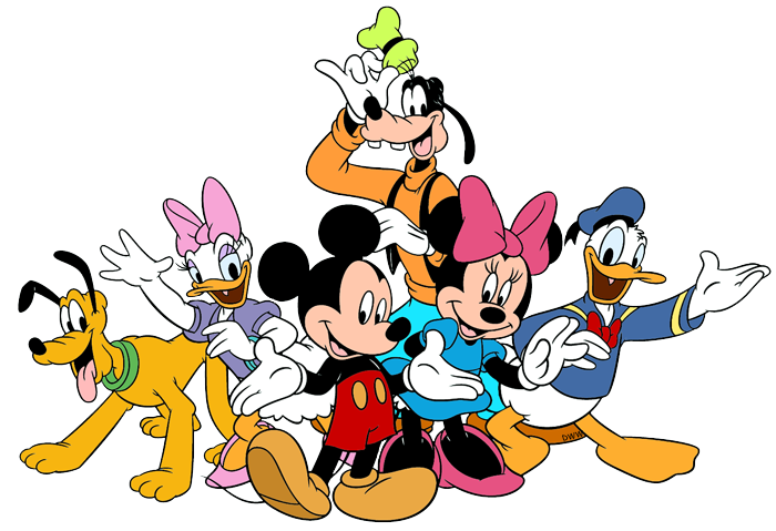 Friendship clipart circle time. Mickey friends png pixels
