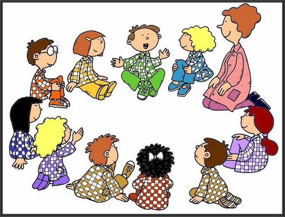 Friendship clipart circle time. Spend with friends clip