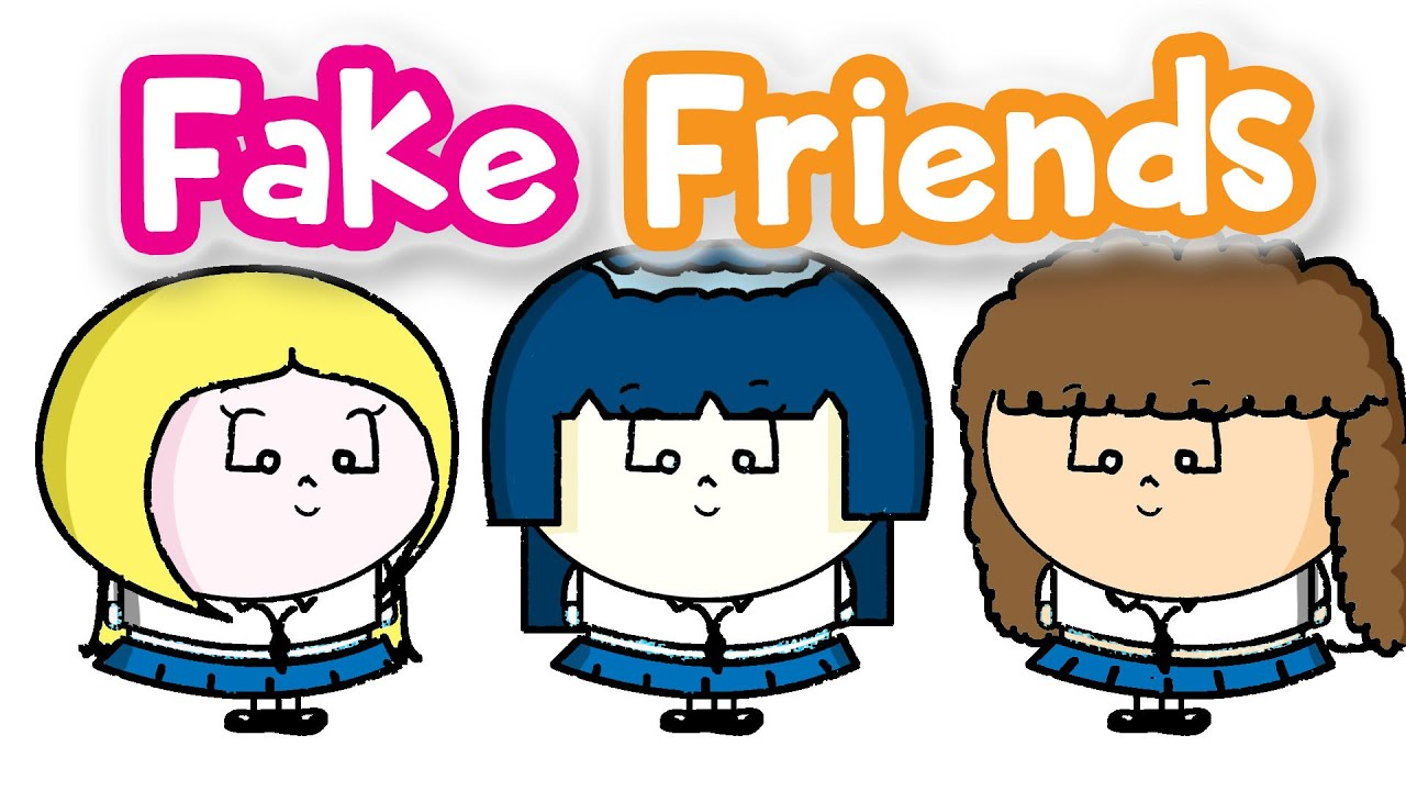 How to deal with. Friendship clipart fake friend