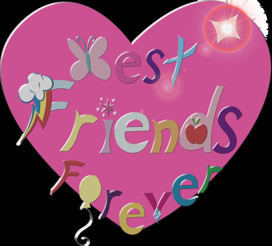 Friendship clipart friend forever. Best friends by megatj