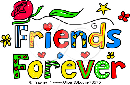 Friends clip art panda. Friendship clipart friend forever