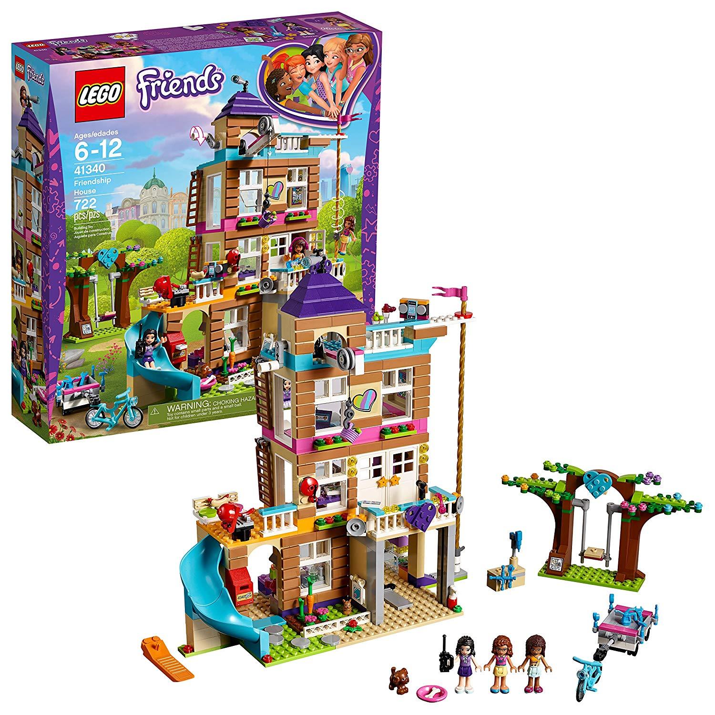 Lego kids building set. Friendship clipart friends house