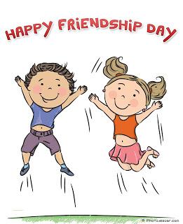 Friendship clipart friendship day. Station
