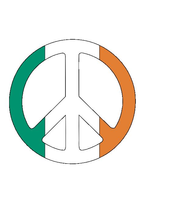 Ireland symbol . Peace clipart social justice