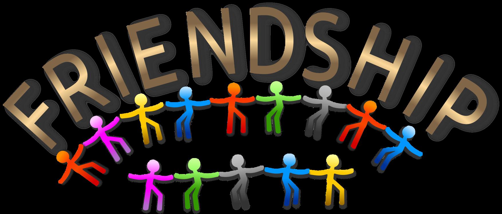 Human behavior area text. Friendship clipart friendship symbol