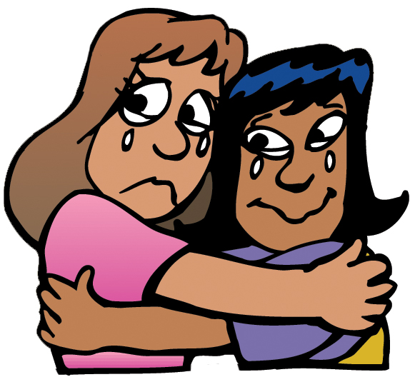 Friendship clipart goodbye. Friends free download best