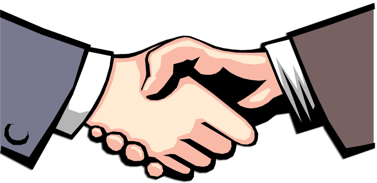 Professional clipart handshake. Partners friends the weekly