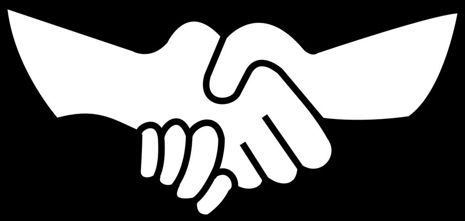 Public domain clip art. Handshake clipart buisness