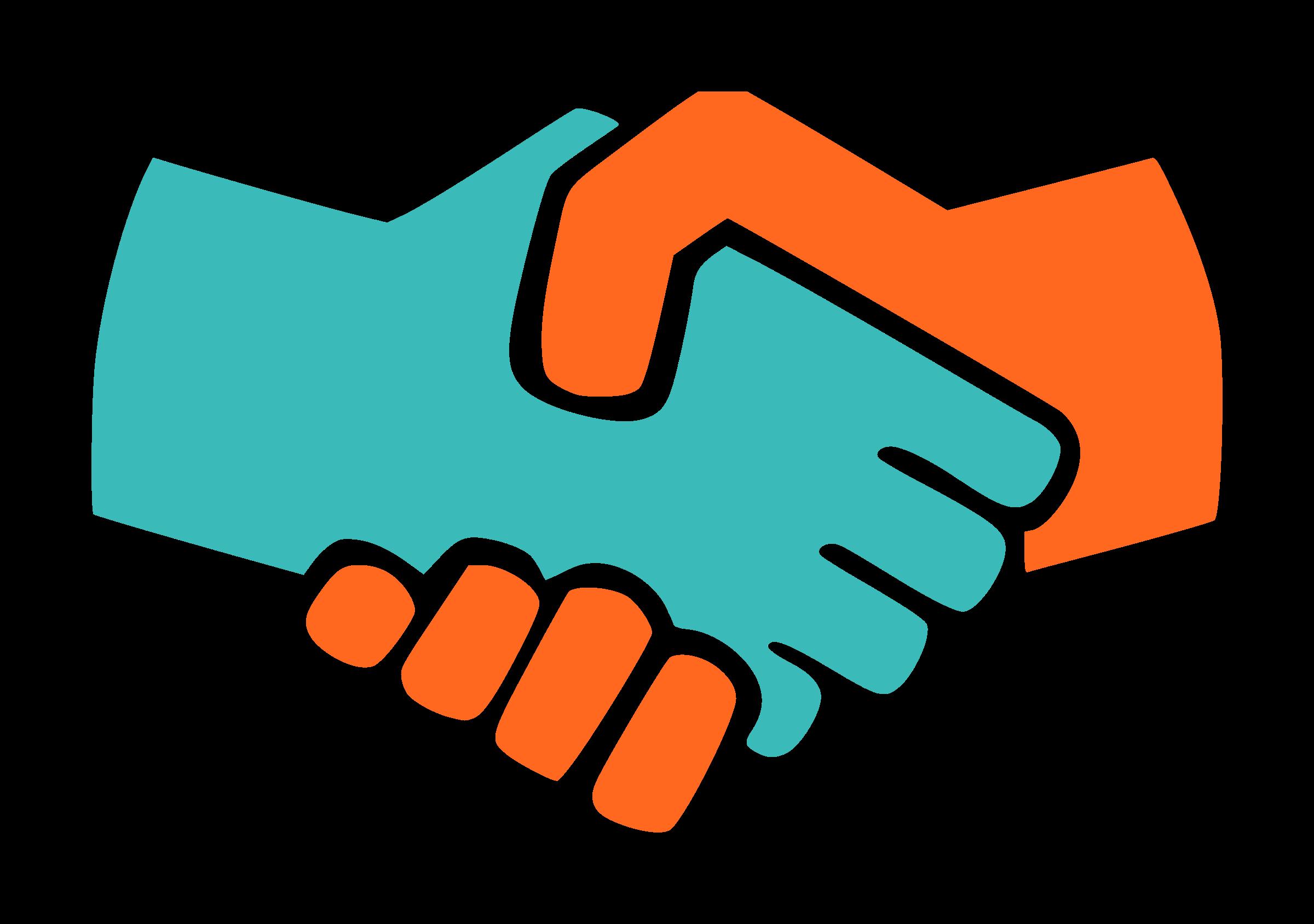 Handshake clipart logo. Png hd transparent images