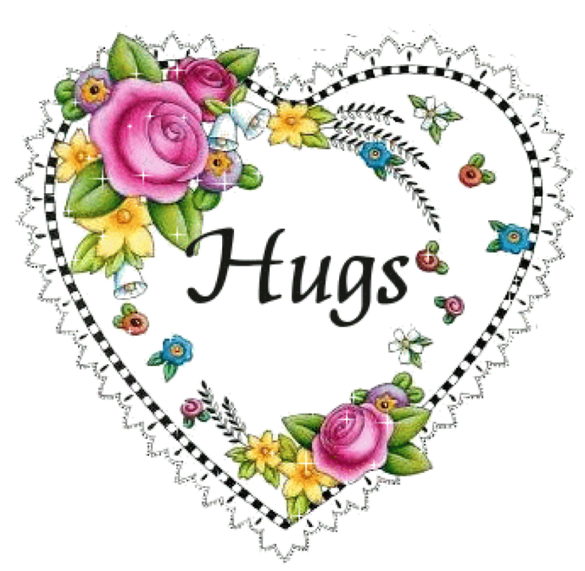 Friendship clipart hug. Sending hugs and love