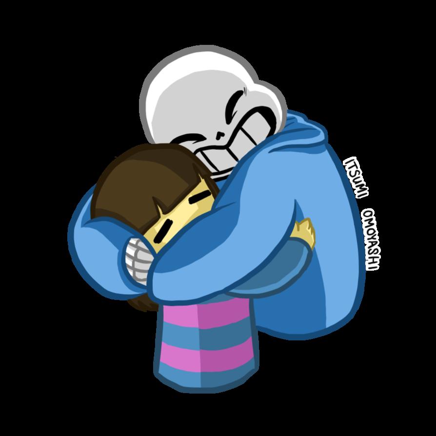 Hug clipart child hug. Undertale friendship clip art