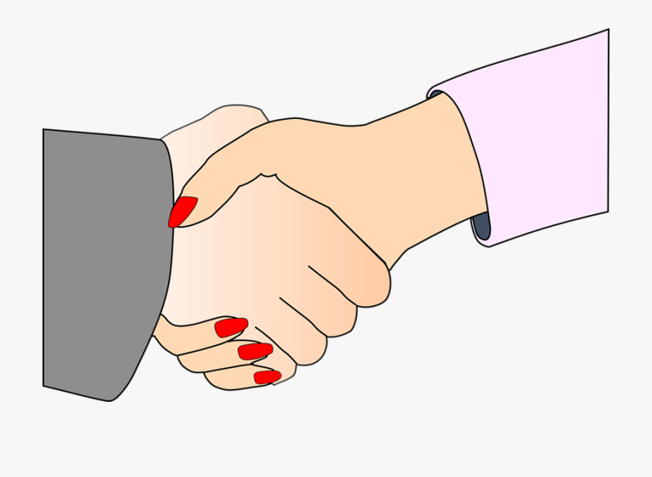 Handshake free to use. Friendship clipart palpable