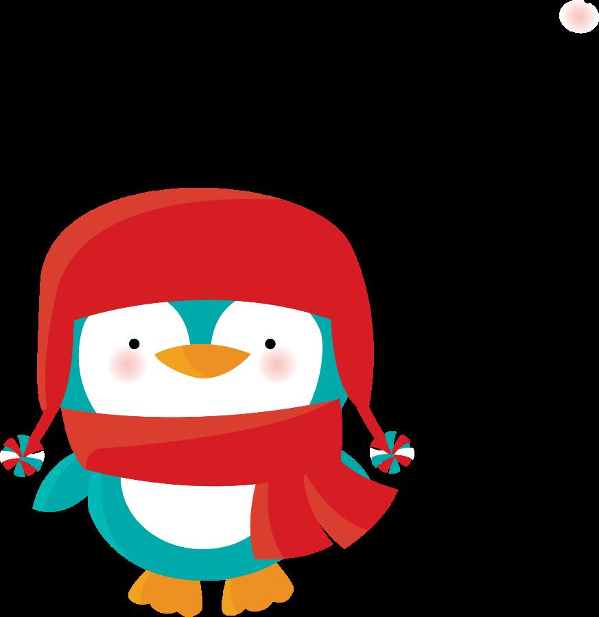 Pinguins minus cute winter. Friendship clipart penguin friend
