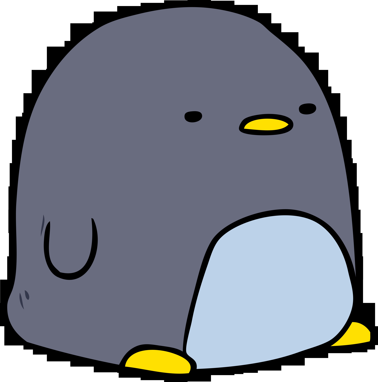 Little part of the. Friendship clipart penguin friend