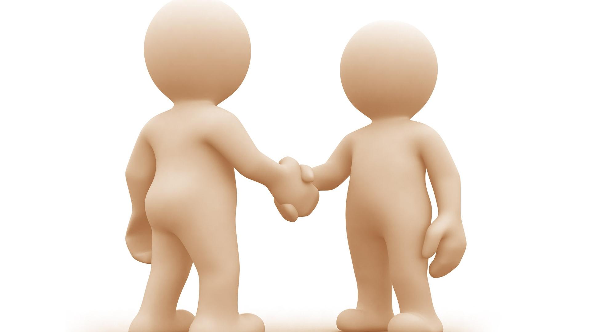 Friendship clipart person. Download wallpaper handshake people
