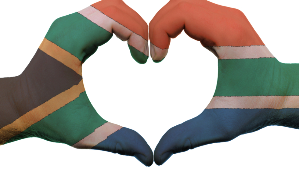 Racism south africa and. Friendship clipart rainbow nation
