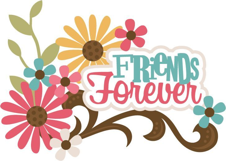 Best friends free clip. Friendship clipart scrapbook
