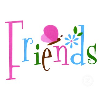 Free friends word cliparts. Words clipart friendship