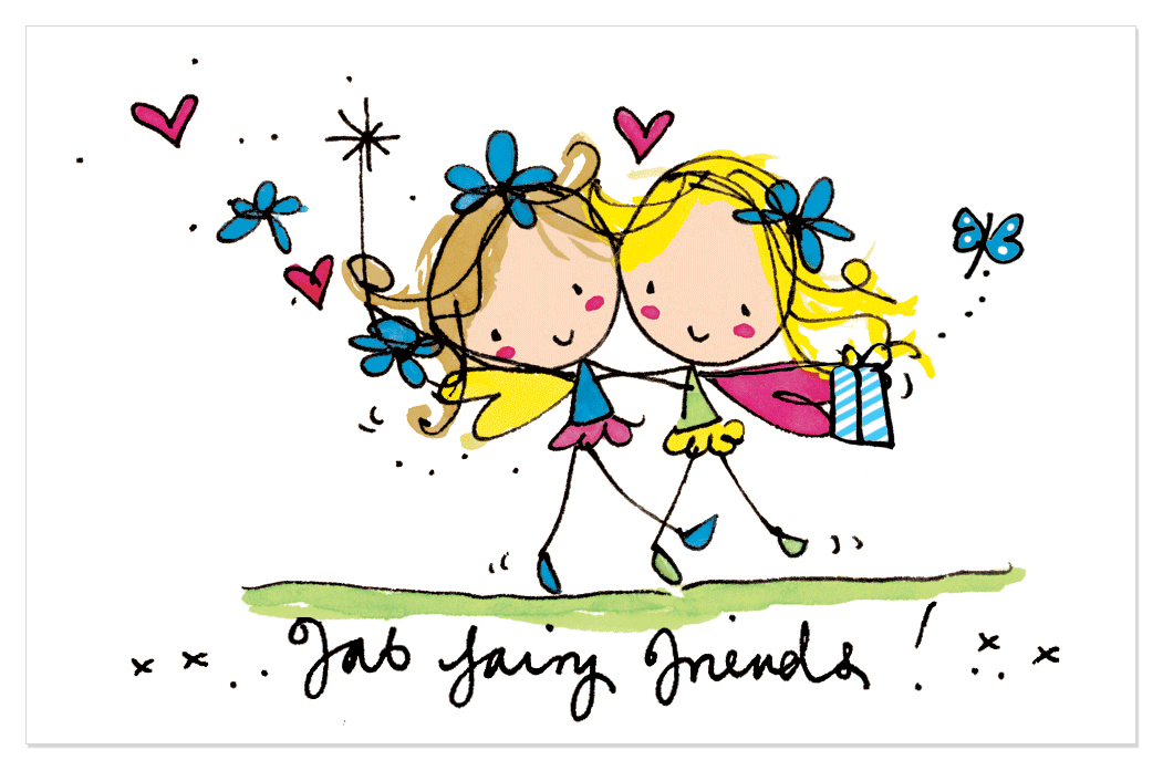 My fab fairy messages. Friendship clipart world trade