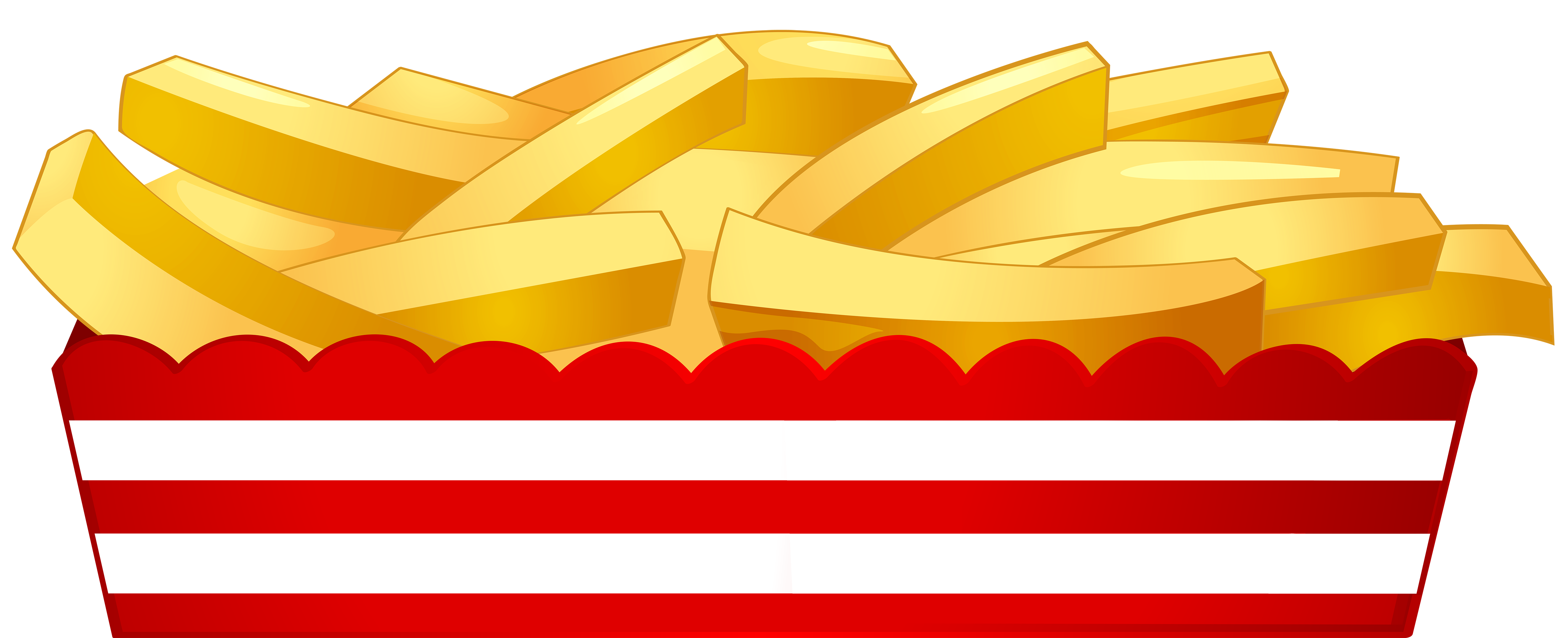 Fries clipart. French fast food png